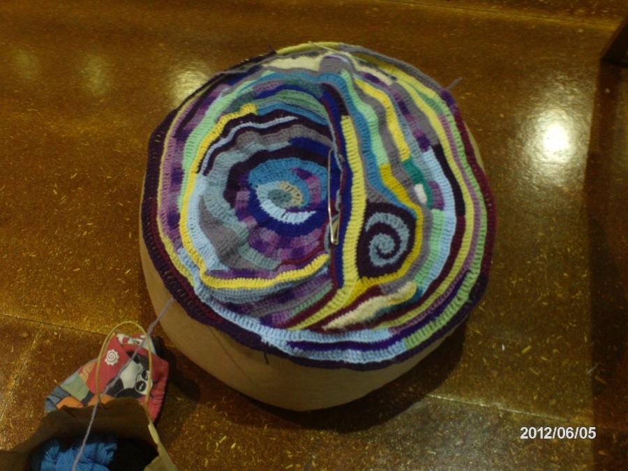 Beanbag freeform crochet kelly marie mcewan