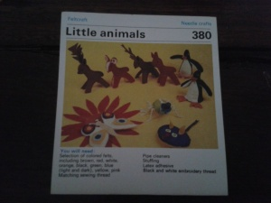 Felted toys - Little animals