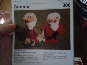 Felted toys - Gnomes