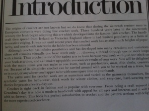 Australian Book of Crochet c. 1972 - still relevant today.