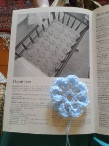 More success with the floral pattern from the Australian crochet book