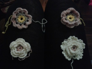 Another night I reverse engineered four versions of the same flower from a Pinterest image (it's working!)