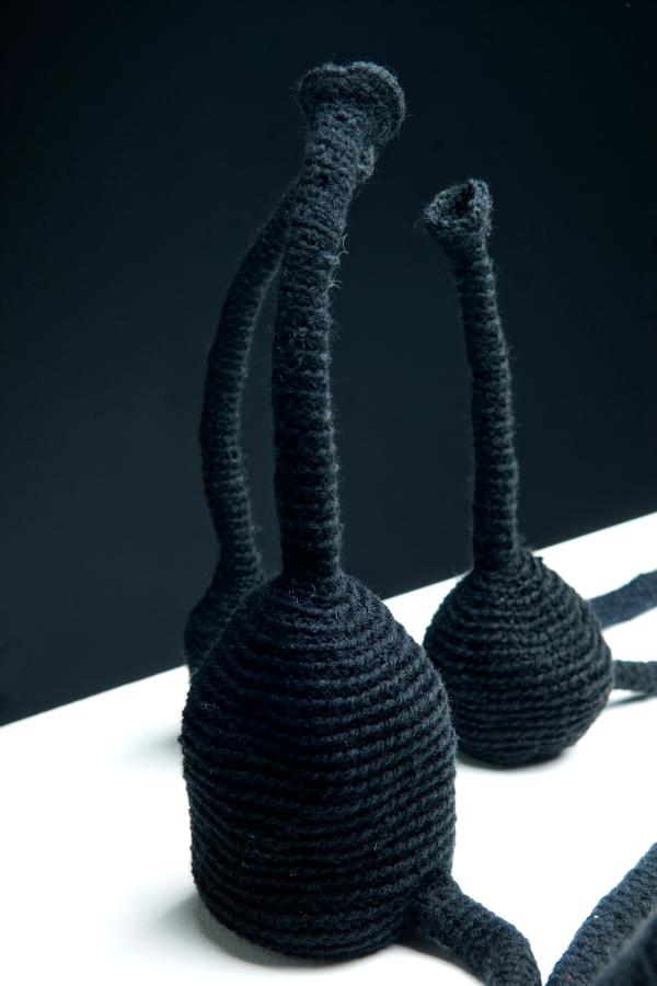 kelly marie mcewan crochet amigurumi sculpture