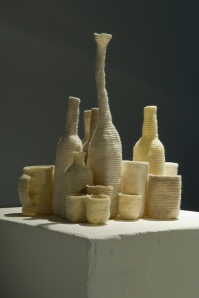 A collection of cups and bottles, 2009