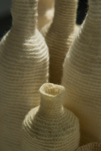 A collection of cups and bottles, detail, 2009