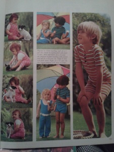 Vintage craft book children