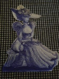 Completed - quite an elegant lady...