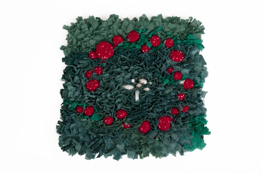 kelly-marie mcewan, fairy-ring rug and crochet
