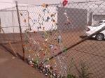 kelly-marie mcewan creative tanks 2013 crochet flowers vines install complete