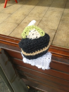 kelly-marie mcewan creative tanks 2013 amigurumi cake crochet sculpture