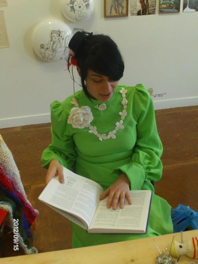 vintage green dress kelly-marie mcewan