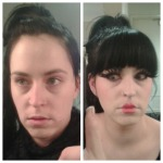 make up before after kelly marie mcewan