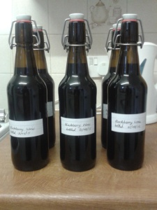 homebrew blackberry wine