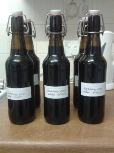 homebrew blackberry wine
