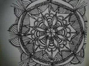 mindfullnness practice mandala