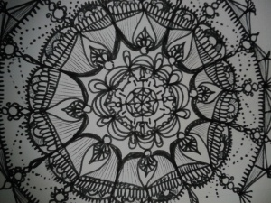 drawing the mandala