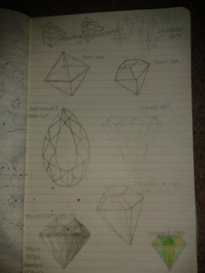 diamond drawing practice geometry