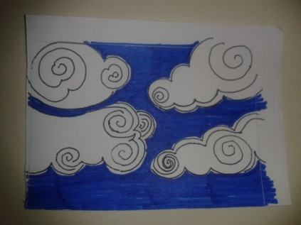 drawing project daily sticker sketch clouds