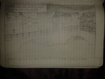 adrawingaday pencil perspective sketch amsterdam bridge