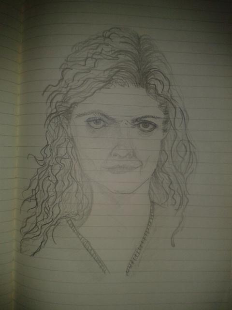 faces of meth portrait sketch pencil moleskine adrawingaday