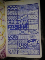 geometric ink zentangles adrawingaday