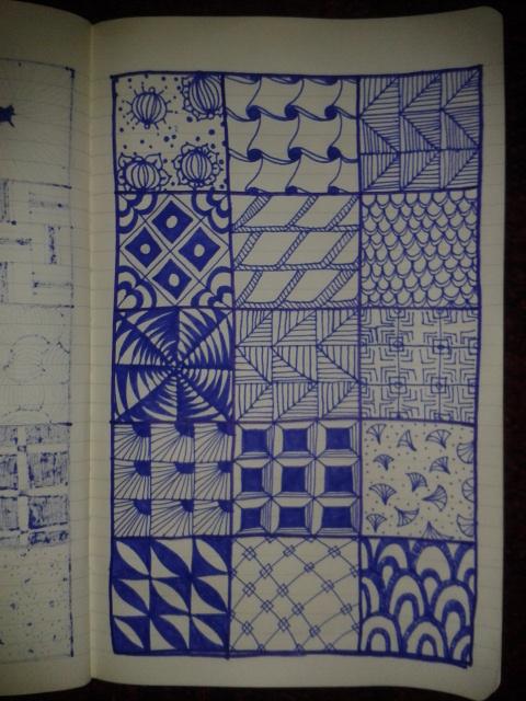 zentangle drawingaday sketching art project