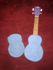 crocheting how to wool ukulele case
