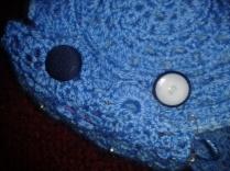 fitting button closure ukulele crocheted case