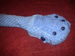 crochet ukulele carry case with pocket