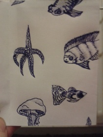 daily drawing sketch project fish illustration