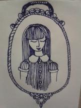 kellymarietheartist drawing project ink sketch