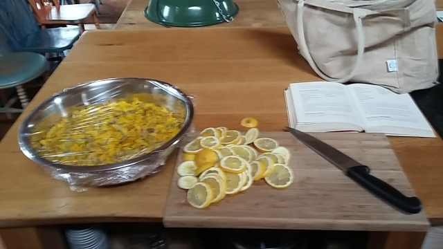 Self sufficiency gorse flowers syrup lemon
