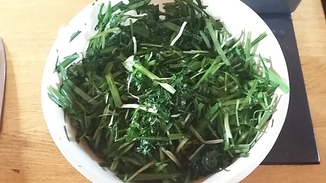 Healthy eating locally foraged greens kimchi recipe