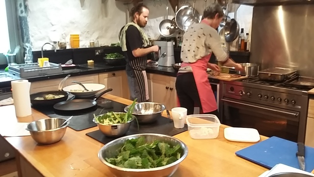 Fat Hen Cornwall cookery school workshop day