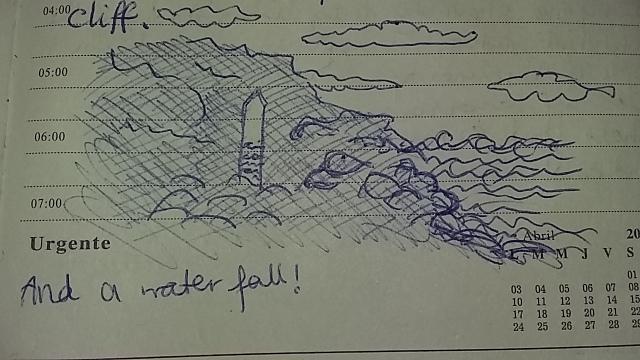 Cornish beaches drawing sketching journaling